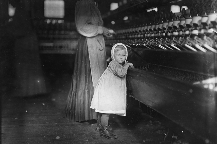 the unethical use of orphaned children in factories during the british industrial revolution